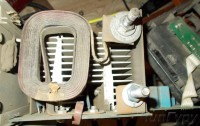 ММА TIG DC cварочный аппарат PICO 162 восстановление - плата в пыли 3.jpg